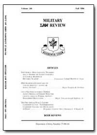 Military Law Review-Volume 146 by Risch, Stuart W., Captain