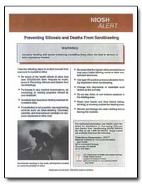 Preventing Silicosis and Deaths from San... by Department of Health and Human Services