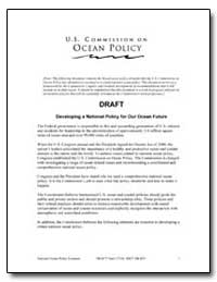 Draft Developing a National Policy for O... by