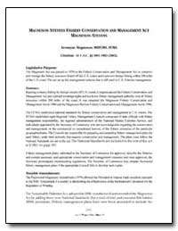 Magnuson-Stevens Fishery Conservation an... by