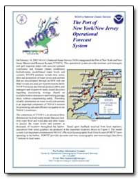 The Port of New York/New Jersey Operatio... by