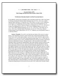 Executive Order 13178 with Changes Incor... by