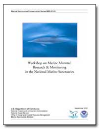 Workshop on Marine Mammal Research and M... by Fangman, Sarah