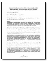 Presidential Proclamation 5928 of Decemb... by