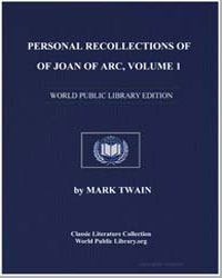 Personal Recollections of Joan of Arc, V... by Twain, Mark