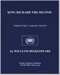 King Richard the Second by Shakespeare, William