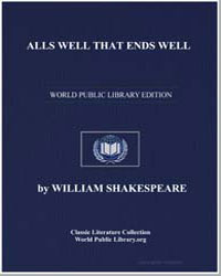 Alls Well That Ends Well by Shakespeare, William