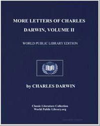 More Letters of Charles Darwin Volume Ii by Darwin, Charles