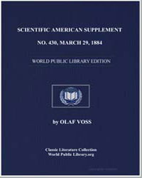Scientific American Supplement, No. 430,... by Various