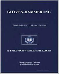 Gotzen-Dammerung by Nietzsche, Friedrich Wilhelm