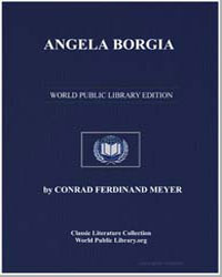 Angela Borgia by Meyer, Conrad Ferdinand