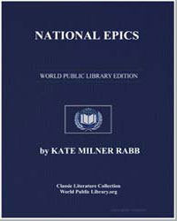 National Epics by Rabb, Kate Milner, Mrs.