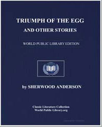Triumph of the Egg and Other Stories by Anderson, Sherwood