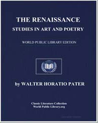 The Renaissance : Studies in Art and Poe... by Pater, Walter Horatio