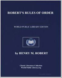 Robert's Rules of Order Pocket Manual of... by Robert, Henry M. (Henry Martyn)