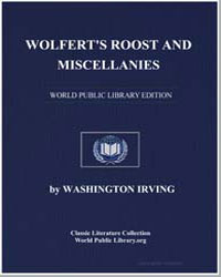 Wolfert's Roost and Miscellanies by Irving, Washington