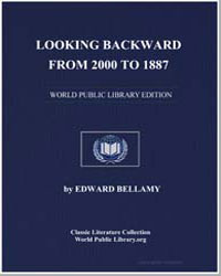 Looking Backward from 2000 to 1887 by Bellamy, Edward, Mrs.