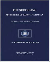 The Surprising Adventures of Baron Munch... by Raspe, Rudolf Erich