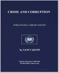 Crime and Corruption by Vaknin, Sam
