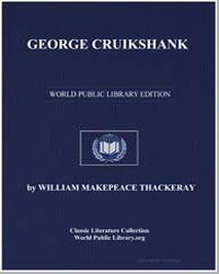 George Cruikshank by Thackeray, William Makepeace