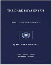 The Dare Boys of 1776 by Cox, Stephen Angus