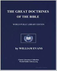 The Great Doctrines of the Bible by Evans, Rev. William
