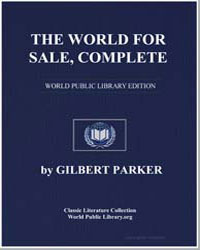 The World for Sale by Parker, Gilbert, Sir