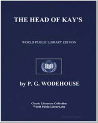 The Head of Kay's by Wodehouse, Pelham Grenville