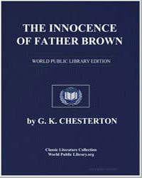 The Innocence of Father Brown by Chesterton, Gilbert Keith