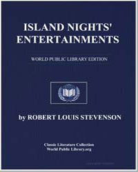 Island Nights' Entertainments by Stevenson, Robert Louis
