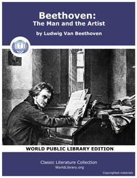 Beethoven : The Man and the Artist, As R... by Beethoven, Ludwig Van