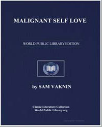Malignant Self Love by Vaknin, Sam