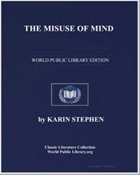 The Misuse of Mind by Stephen, Karin