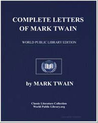 Complete Letters of Mark Twain by Twain, Mark