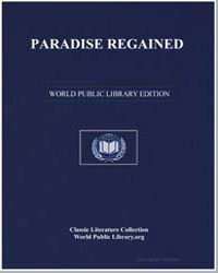 Paradise Regained the First Book by