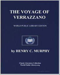The Voyage of Verrazzano by Murphy, Henry Cruse
