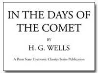 In the Days of the Comet by Wells, H. G.
