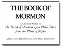 The Book of Mormon : An Account Written ... by Smith, Joseph