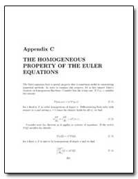 Appendix C the Homogeneous Property of t... by