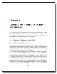 Chapter Choice of Time Marching Methods by