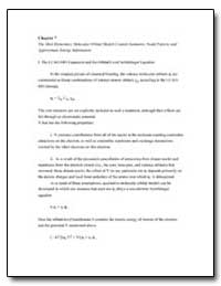 Chapter 7 the Most Elementary Molecular ... by
