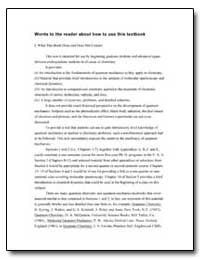 Words to the Reader about How to Use Thi... by