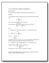 Section 6 Exercises Problems and Solutio... by
