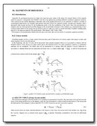 Elements of Rheology : Introduction. by