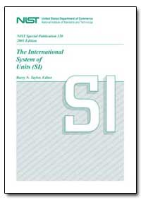 The International System of Units by Taylor, Barry N.