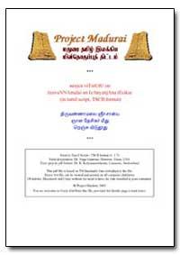 Thirukkural Verses in Tamil (Tscii Forma... by Kalyanasundaram, K., Dr.