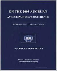 On the 2005 Auburn Avenue Pastors' Confe... by Gaffin, Richard, Dr.