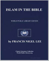Islam in the Bible by Lee, Francis Nigel, Dr.