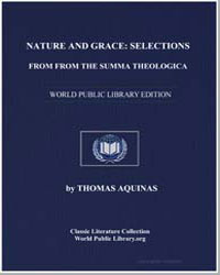 Nature and Grace: Selections from the Su... by Aquinas, Thomas, Saint