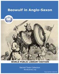 Beowulf in Anglo-Saxon by